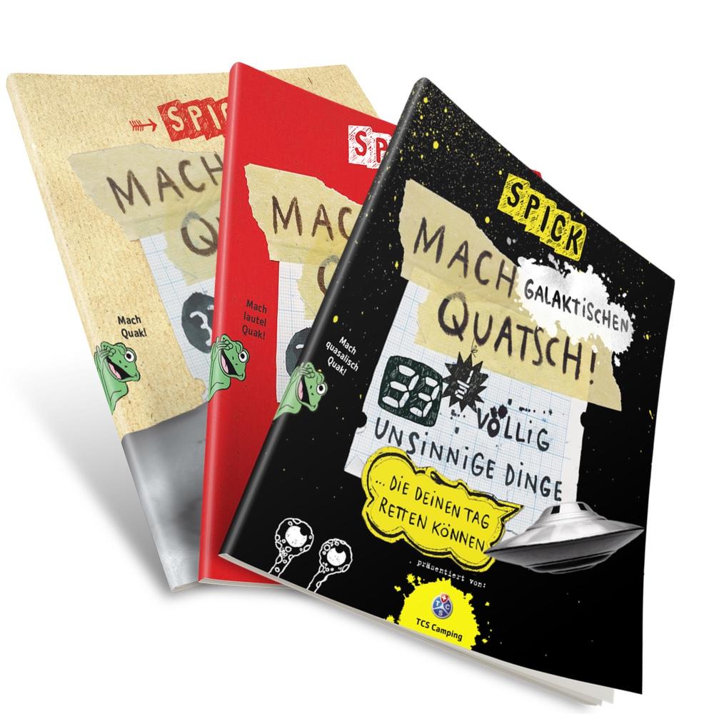Image of 3 x Mach Quatsch Guide