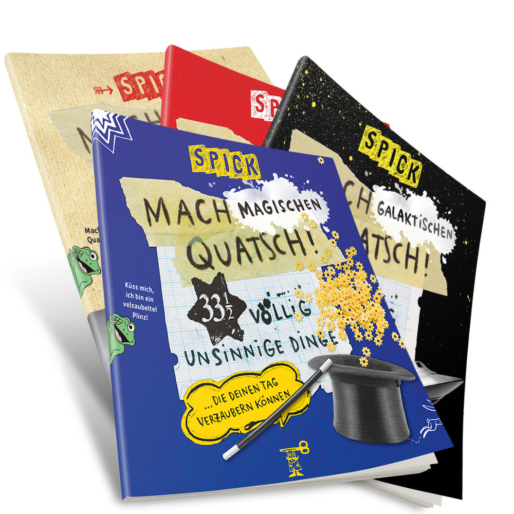 Image of 4 x Mach Quatsch Guide